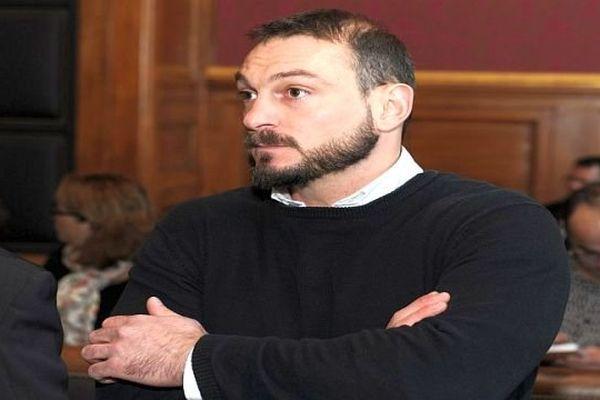 Montpellier - Nicolas Vizioz, un des 6 accusés dans l'affaire du 3e RPIMa - 5 décembre 2013.