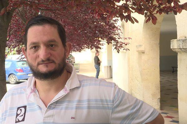 Le légendaire jouteur sétois Aurélien Evangelisti après l'opération qui lui a fait perdre 70 kilos alors qu'il était en surpoids