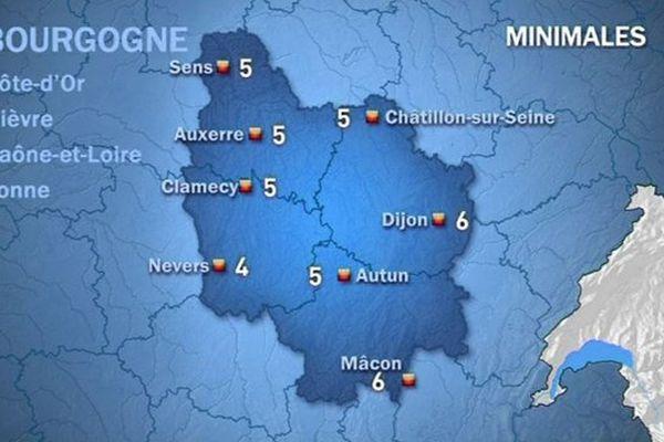 Les prévisions de Météo France mercredi 21 octobre matin