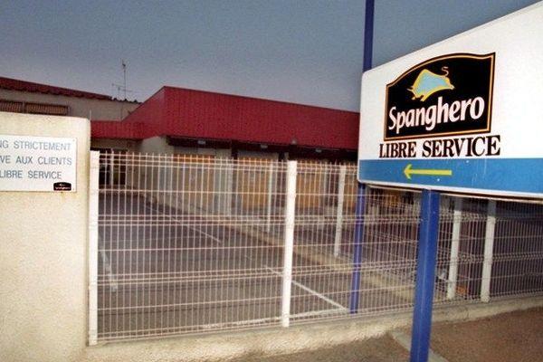 Entrée de la société Spanghero à Castelnaudary en 2000