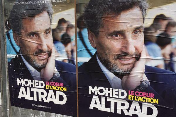Montpellier - le candidat Mohed Altrad a recueilli 13,3% au 1er tour des Municipales et est en 3e position - 2020.