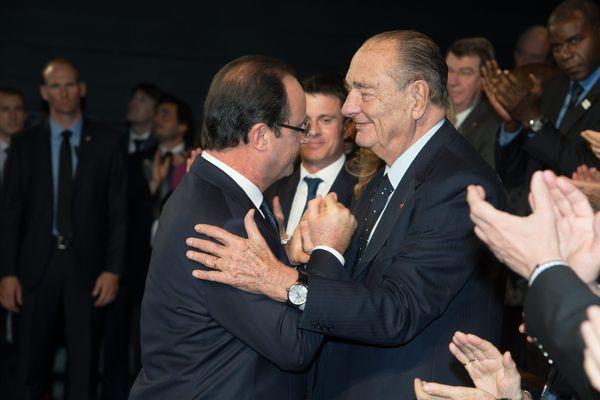 Paris 21 novembre 2013 Cérémonie de remise du prix de la Fondation Chirac pour la prévention des conflits