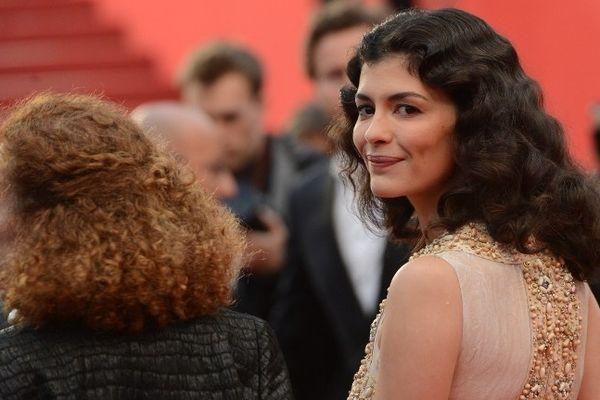 """Audrey Tautou lors du festival de Cannes 2012 pour la présentation du film """"Thérèse Desqueyroux"""""""