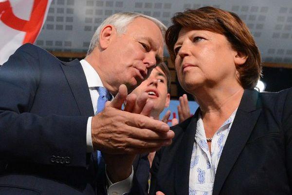 Jean-Marc Ayrault, ancien premier ministre et Martine Aubry, ancienne première secrétaire, sont attendus au congrès du PS à Poitiers