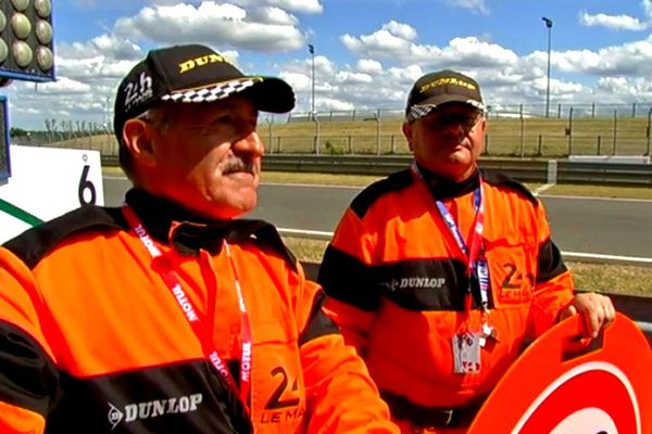 Jacques Gérard, commissaire de course sur les 24 Heures du Mans