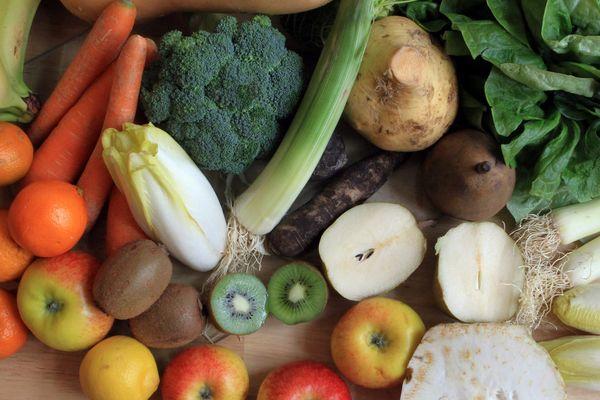 Des légumes bio.