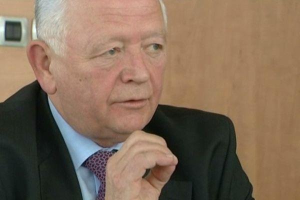 Charles Buttner, président UMP du conseil général du Haut-Rhin