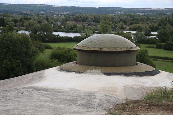 Fortification de la Ligne Maginot en Lorraine.