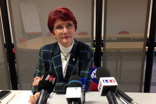Marie-Christine Tarrare, procureure de la République de Dijon, le 29 novembre 2016.
