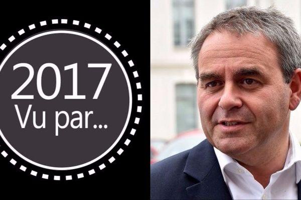 Xavier Bertrand, président du conseil régional des Hauts-de-France.