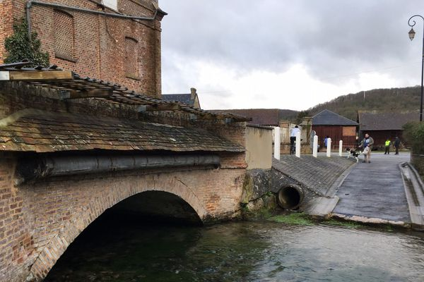 Le parcours a emmené les coureurs sur les bords de l'Iton dans l'Eure
