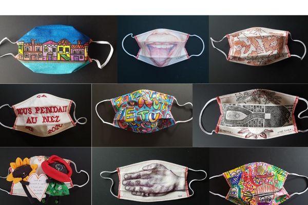 Faites vos offres jusqu'au dimanche 14 juin 2020. L'Art des Masqués: une vente d'oeuvres d'art aux enchères numériques pour la recherche médicale.