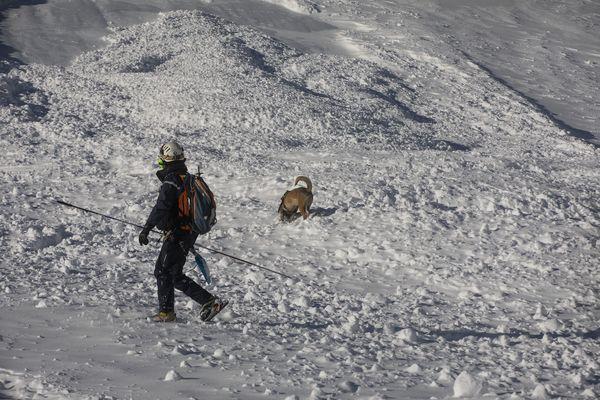 Illustration. Six massifs des Alpes font face, ce mardi 2 février, à un fort risque d'avalanche.