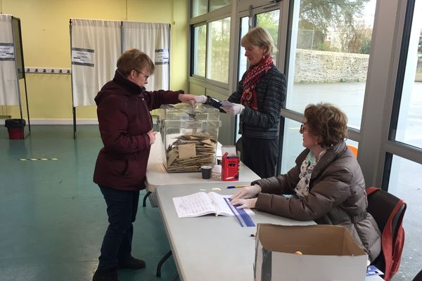 Vote à Lorient ce 15 mars dans un contexte exceptionnel lié à l'épidémie de coronavirus
