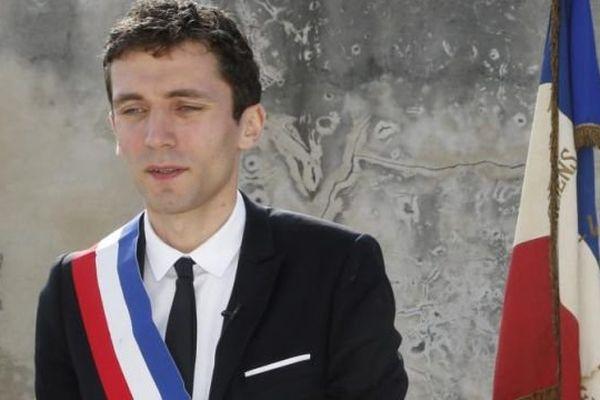 Le maire FN de Beaucaire Julien Sanchez - archives