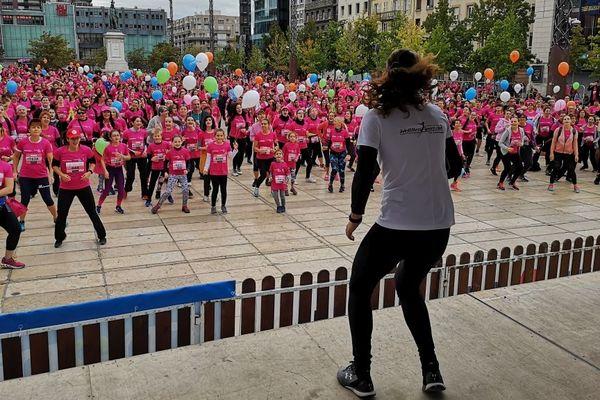 """8570 participantes pour l'édition 2019 de """"Clermont en Rose"""" ce dimanche 6 octobre"""