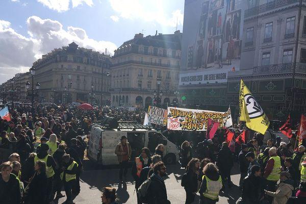Manifestation contre la réforme des retraites le 17 février