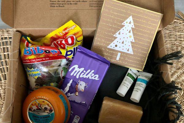 La boite cadeau de Noël de Laure