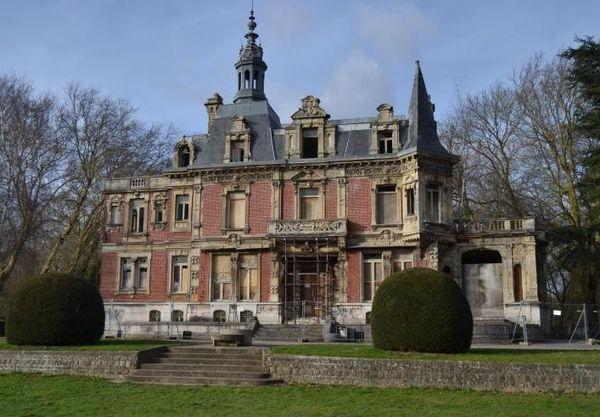 Le château de Westhove.