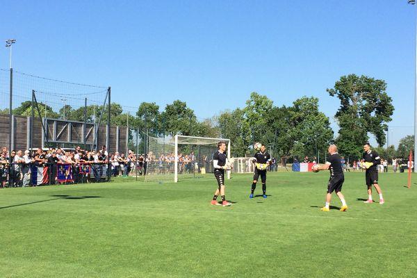 Les joueurs du SCO d'Angers rejoindront Paris ce jeudi vers 15h.