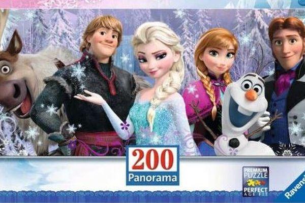 """Les puzzles """"Reines des neiges"""", des incontournables pour les plus jeunes."""