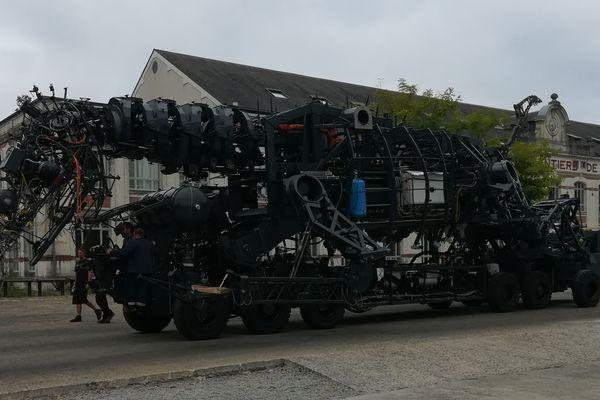 Essais techniques du Dragon à Nantes le 28 août dernier