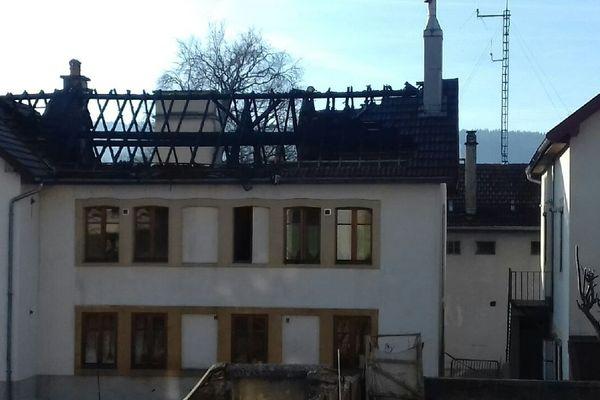 incendie de Morteau