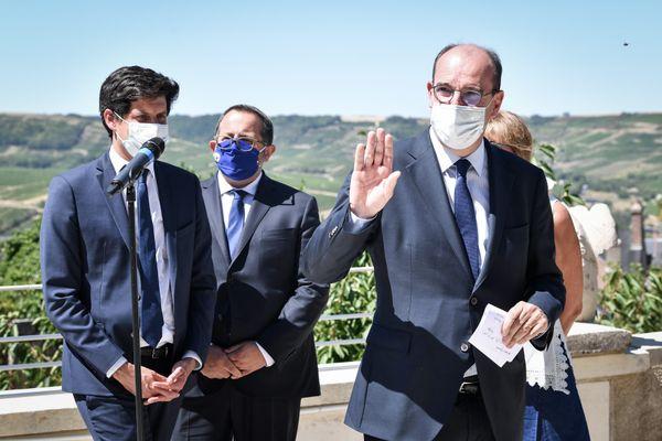 Julien Denormandie, ministre de l'Agriculture et Jean Castex, premier ministre seront en Creuse samedi 6 mars 2021.