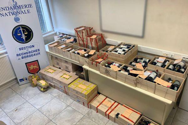 Plus de 900 bouteilles, issues de vols déjà identifiés, ont été retrouvées