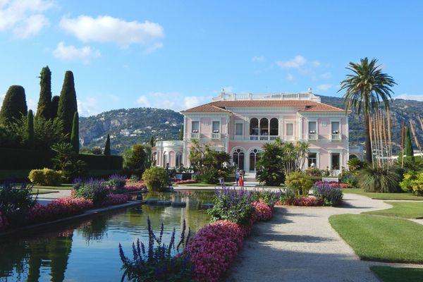 La villa Ephrussi de Rothschild de Saint-Jean-Cap-Ferrat et ses jardins, sont ouverts aux visiteurs ce weekend.