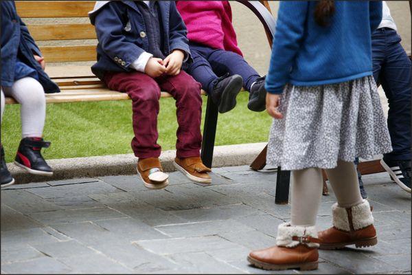 Des enfants, en septembre 2017 (image d'illustration).
