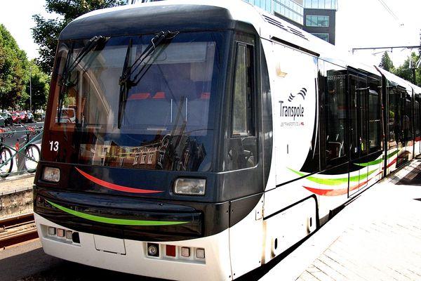 Le tramway de Lille-Roubaix-Tourcoing.