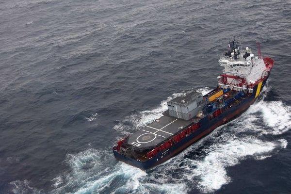 """""""VN Partisan"""", navire présent sur zone dans le cadre du dispositif anti-pollution"""