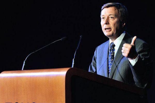 Didier Leroy en mai 2013 à Onnaing. Il était alors le patron de Toyota Europe