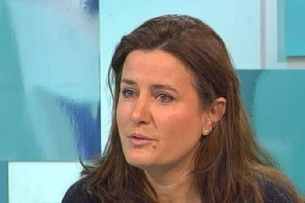 """Virginie Taupenot est la présidente de l'association """"Femmes et vins de Bourgogne"""""""