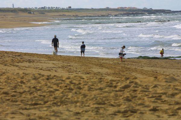 Les plages d'Olonne Sur Mer sont réputées pour leurs vagues