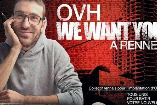 Sur internet la bataille a fait rage pendant plusieurs mois pour attirer le groupe OVH à Rennes ou à Nantes