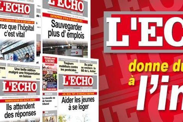 Après 75 ans d'existence, le journal de gauche L'Écho - la Marseillaise, quotidien historique né en 1943,  disparaît, victime de ses difficultés financières.