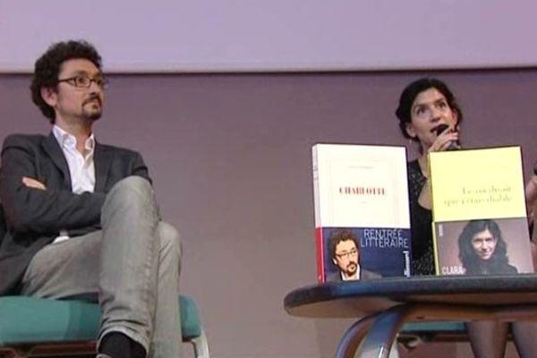 Auteurs sélectionnés pour le Goncourt des Lycéens, Poitiers, mercredi 15 octobre 2014