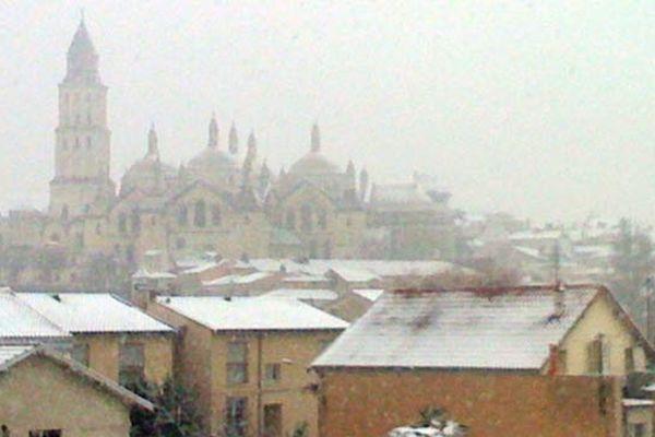 Périgueux sous la neige  (16/01/2013)