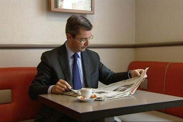 Emmanuel Bichot, candidat à l'investiture de l'UMP pour les municipales 2014 à Dijon