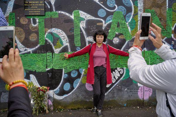 Peace Wall, Loyalist Side, North of Ireland, 2017