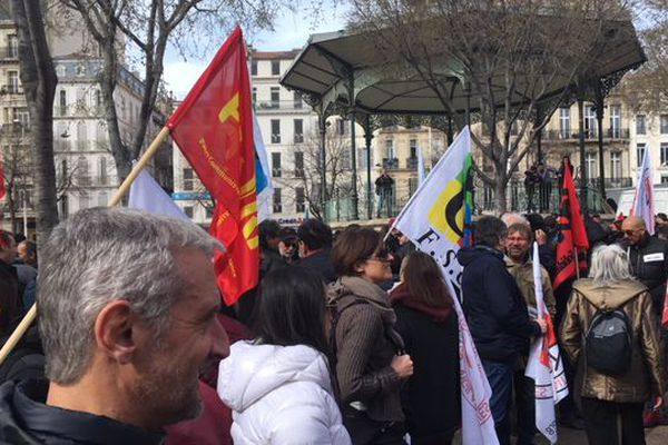 Des associations anti-racistes et mouvements de gauche avaient appelé à manifester ce samedi à Marseille.