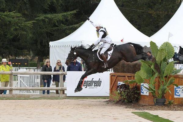 La Toulousaine Gwendolen Fer a remporté dimanche le concours complet 4 étoiles de Pau.