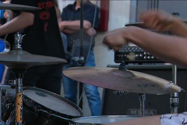 La fête de la musique à Epinal