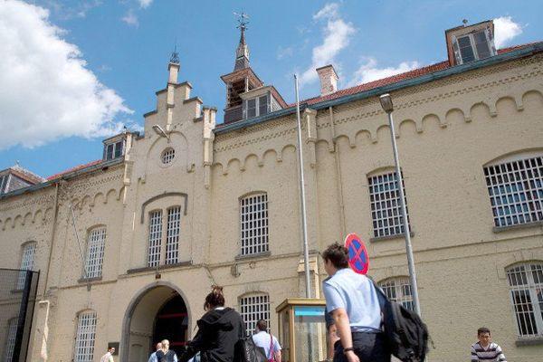 L'établissement pénitentiaire de Merksplas, où a eu lieu l'incident.