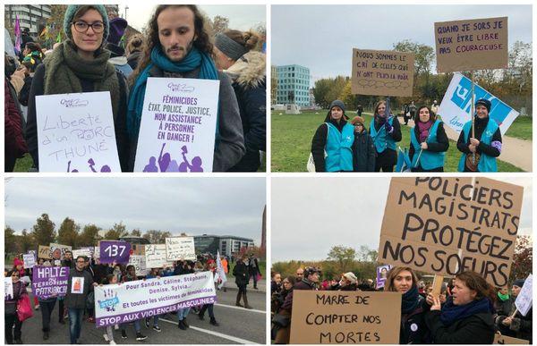 """En couple, entre collègues, entre amies, tous étaient là pour demander au gouvernement d'agir car les violences faites aux femmes ne sont pas une """"affaire privée""""."""