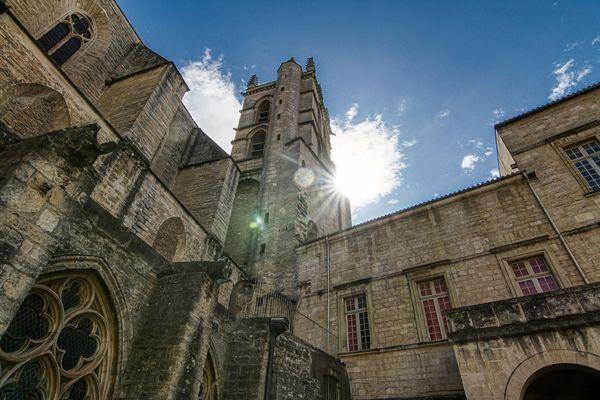 Le bâtiment historique de la faculté de médecine de Montpellier a tout d'un décor de film !