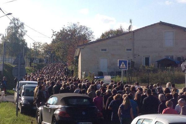 Une marche avait eu lieu le 25 octobre en mémoire des victimes