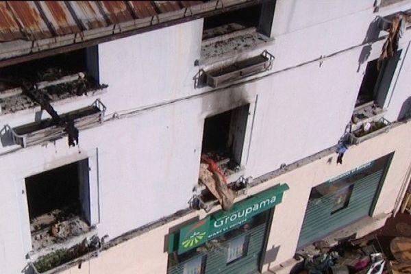 Trois commerces sont hors d'état à la suite de l'incendie de Saint-Laurent en Grandvaux